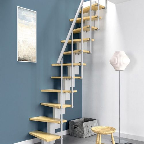 escalera para espacios reducidos