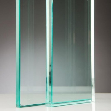 cristal transparente para escaleras