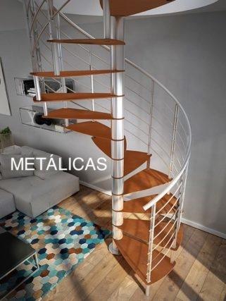 Escalera metálica de diseño